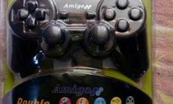 AMIGO double shock game controller * Double shock *