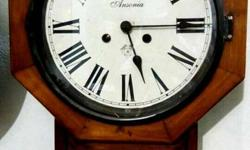Ansonia antique clock 70 years. In perfect working