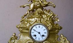 18th century make french table clock in very good