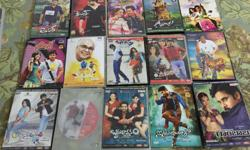 Second hand telugu , hindi and english dvds available