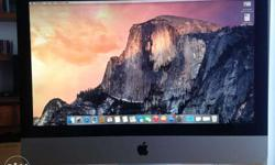 Apple iMac Core 2 Duo 3.06 21.5-Inch music and video