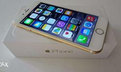 Apple iPhone 6 64 GB ( Gold ) Accessories: Box ,