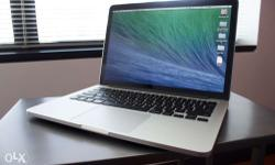 apple macbook pro i7 very neat condition, less used,8GB
