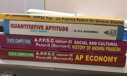 4 Books for Almost all APPSC Exams . AP History . AP