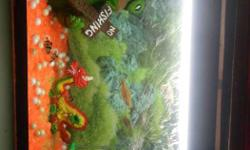 Aquarium of 2 feet. Fully set with fishes. Have all