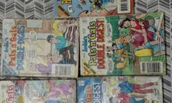 Archie and friends comics . Total of 53 comics for