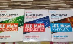 JEE Main Chapterwise Solutions Maths,Physics &
