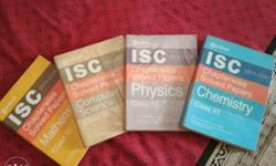 Four ISC Chapterwise Solved Papers Class XII Textbooks