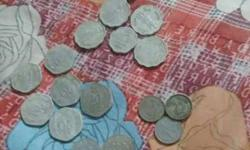 Assorted Indian Coins