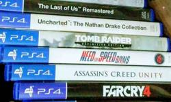 Assorted PS4 Game