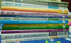 Books for each subject are also available separately