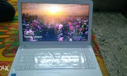 Asus x540s laptop.. 15 inch hd screen.. Less than a