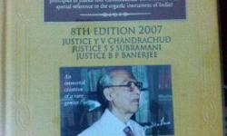 Title of Book : Commentaries on Constitution of India
