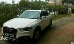 audi q3 with warranty. clean car 90% loan arrange in