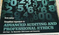 Auditing book for CA FINAL by renowned author Vikas