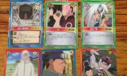 Authentic Japanese MANGA cards from Japan . Only