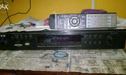 Amplifier in good condition , 12 inch Sub woofer good