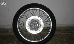 Want to sell ma avenger tyre wutht rim n disc brake