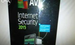 AVG Internet security 2015 3year subscription multiple