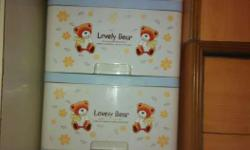 Baby cloths storage cabinet 1yr old good cndtion its