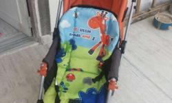 Baby stroller very less used, and in a very good