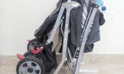 Mee Mee brand baby stroller, rarely used. 1 year old in