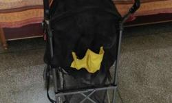 Foldable baby stroller, less used in good condition
