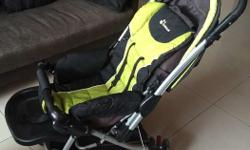 Baby stroller which can bear max 35 kg