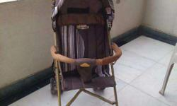 A very sturdy stroller in excellent condition used for