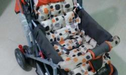 Baby Stroller for new born baby, having in extreme good
