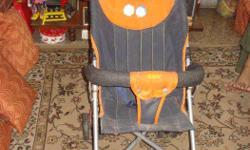 Baby stroller in good condition with sun hood.