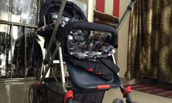 Baby pram and stroller less used almost new having