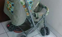 Its a branded used baby stroller of (VOYAGE) in good