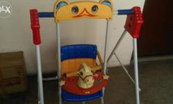 Baby Swing. Good as new suitable for 1 - 3 years old