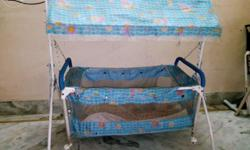 Baby jhula and trolly in good condition for sale