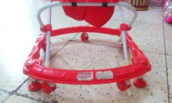 Baby walker with stopper in good condition