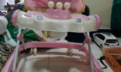 Baby walker pink colour