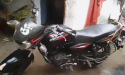 60kmph mileage bajaj discover 135cc black and red