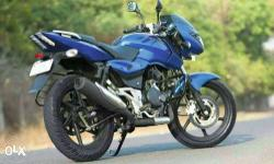 Pulsar 150 Blue colour All paper clear Well maintained