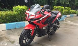 Bajaj Pulsar RS 200 ABS Single use. Till date all