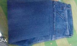 Band new jeans one year warranty of product branded