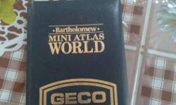 Bartholomew Mini Atlas World Geco Book