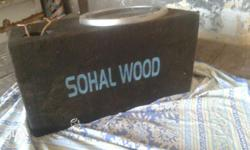 Base pioneer double cvale nd base tube sohal wood and