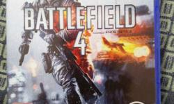 Battlefield 4 - PS4 Game As good as NEW! 2 Weeks