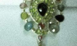 Beautiful Peridot Locket. Contact for more details...