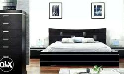Queen size bed non storage RS 8500 5 years warranty