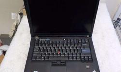 Lenovo Thinkpad T400 Intel Core 2 Duo Processor Inside