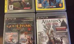 Best PS3 games of 24 CDs sold at 500 each. If bought