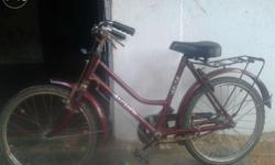 new bi cycle Atlas red color, Good Running Condition, 8