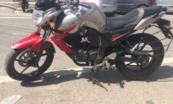 Yamaha Fz-s silver/red Awesome condition....single